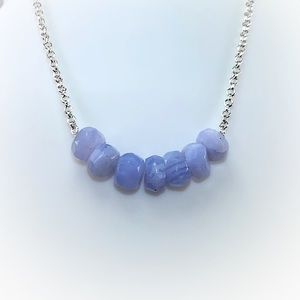 Special DISCOUNT! Blue Lace Agate Necklace!